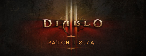 Diablo III Patch 1.0.7a