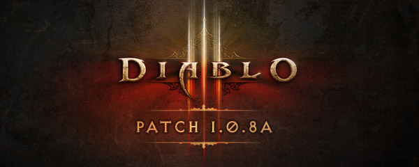 Diablo III Patch 1.0.8a