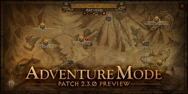 adventure mode preview for patch 2 3 diablo iii news