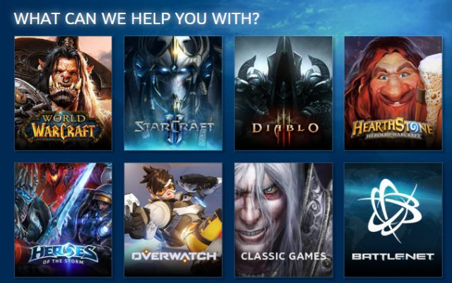 Blizzard Battle.net Support 2.0