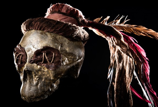 Witch Doctor Cursed Skull