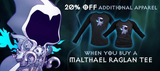 Blizzard Gear Store - Malthael Ralgan Tee Sale