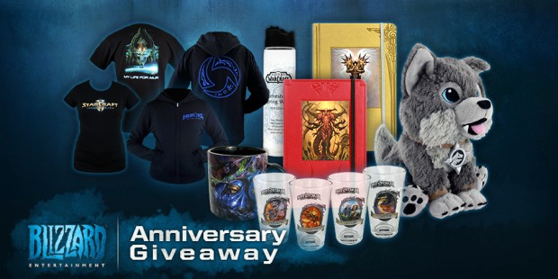 Blizzard 2015 Anniversary Giveaway