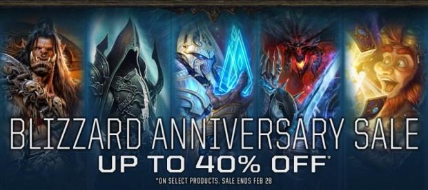 Blizzard Anniversary 2015 Sale