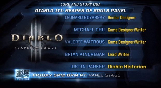BlizzCon 2013 Lore and Story Panel