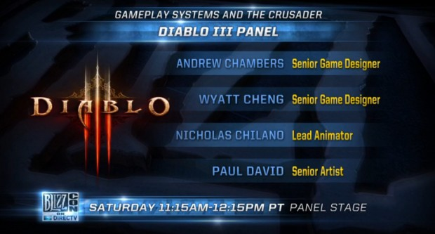 BlizzCon 2013 Gameplay Systems Panel