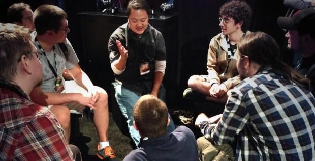 Wyatt Cheng Chatting at BlizzCon 2013