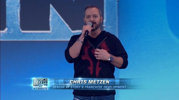 BlizzCon 2014 Opening Ceremony - Chris Metzen