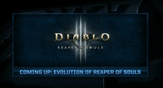 BlizzCon 21014 - Evolution of Reaper of Souls