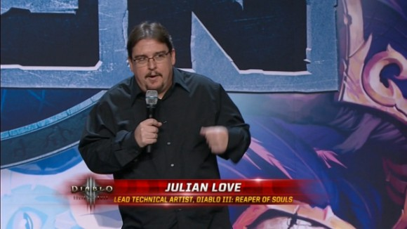 BlizzCon 2014 Diablo III - Evolution of Reaper of Souls - Julian Love