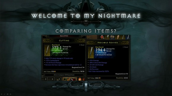 BlizzCon 2014 Diablo III - Evolution of Reaper of Souls - Welcome To My Nightmare