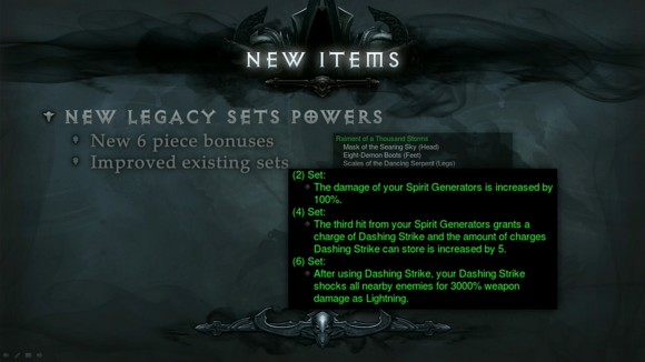 BlizzCon 2014 Diablo III - Evolution of Reaper of Souls - Updated Items - Raiment