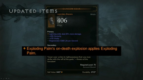 BlizzCon 2014 Diablo III - Evolution of Reaper of Souls - Updated Items - Gungdo Gear