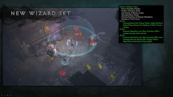BlizzCon 2014 Diablo III - Evolution of Reaper of Souls - New Wizard Set