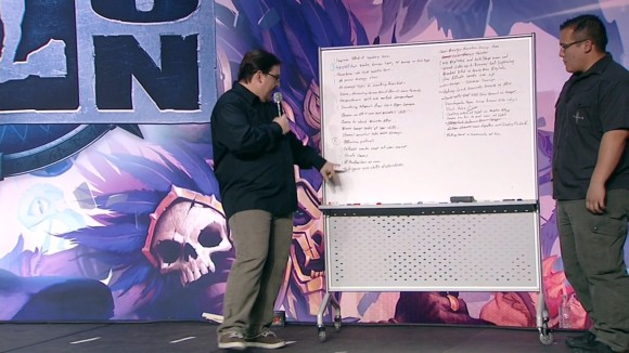 BlizzCon 2014 Diablo III - Evolution of Reaper of Souls - Whiteboard