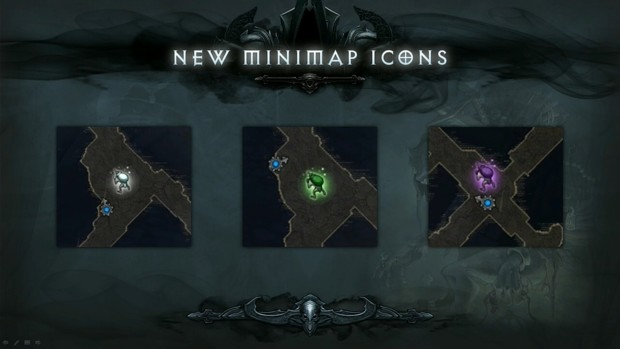 BlizzCon 2014 Diablo III - What's Next - Goblin Minimap Icons