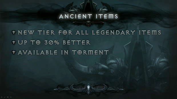 BlizzCon 2014 Diablo III - What's Next - Ancient Items