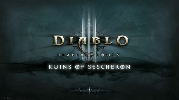 BlizzCon 2014 Diablo III - What's Next - Ruins of Sescheron