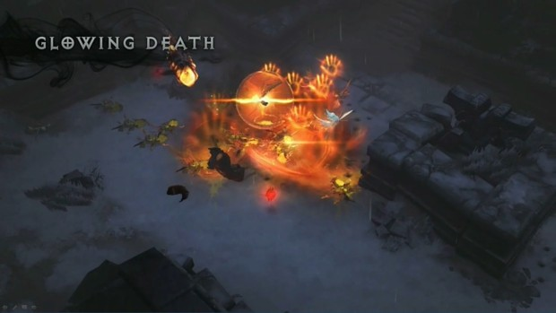 BlizzCon 2014 Diablo III - What's Next - Glowing Death
