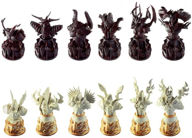 Diablo Chess Set