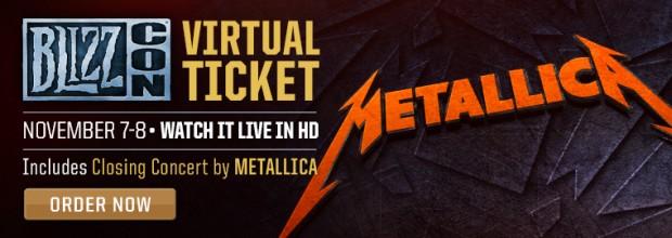 Metallica Live at BlizzCon 2014