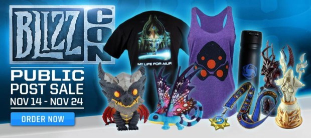 BlizzCon 2014 Gear Store Post Public Sale