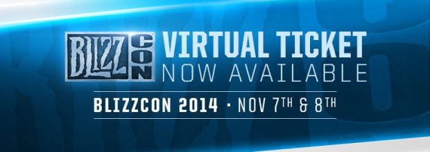 BlizzCon 2014 Virtual Ticket Available