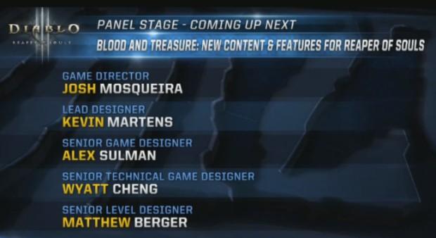 BlizzCon 2015 Diablo III Panel
