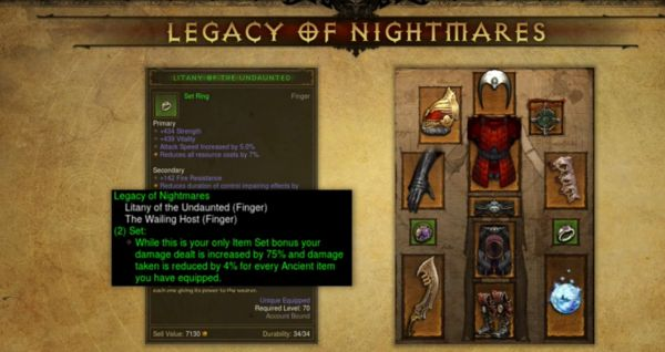 Legacy of Nightmares Set - BlizzCon 2015