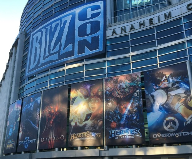 BlizzCon 2015 - Outside Banner