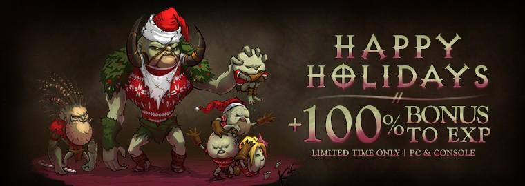 Christmas 2014 Diablo III Experience Buff