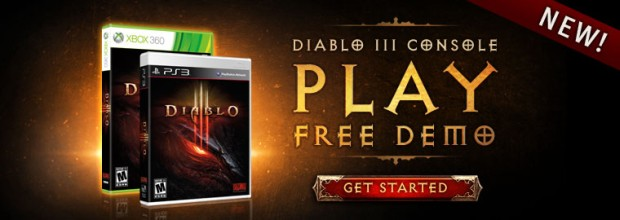 PlayStation 3 and Xbox 360 Diablo III Demo