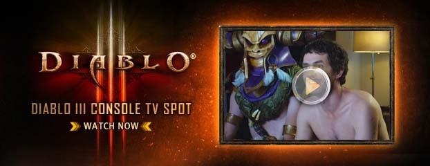 Diablo III Console TV Ad