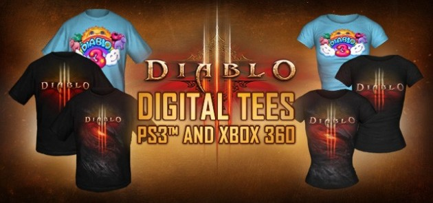 Diablo III Digital T-Shirt DLC