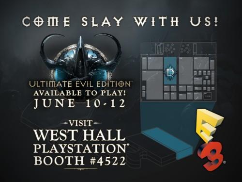 Diablo III: Ultimate Evil Edition at E3 2014