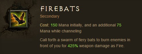 Firebats in Patch 2.2.1 Diablo III