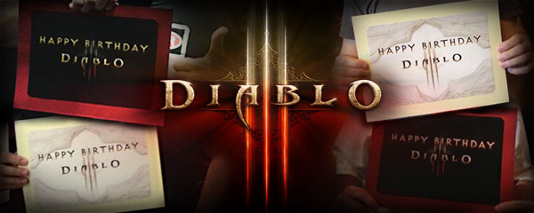 Diablo III First Birthday Celebration