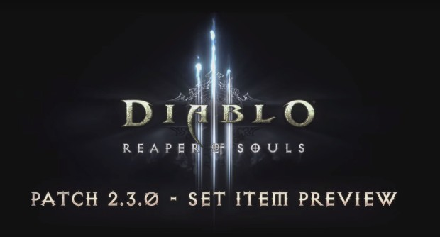 Diablo III Patch 2.3.0 Set Item Preview