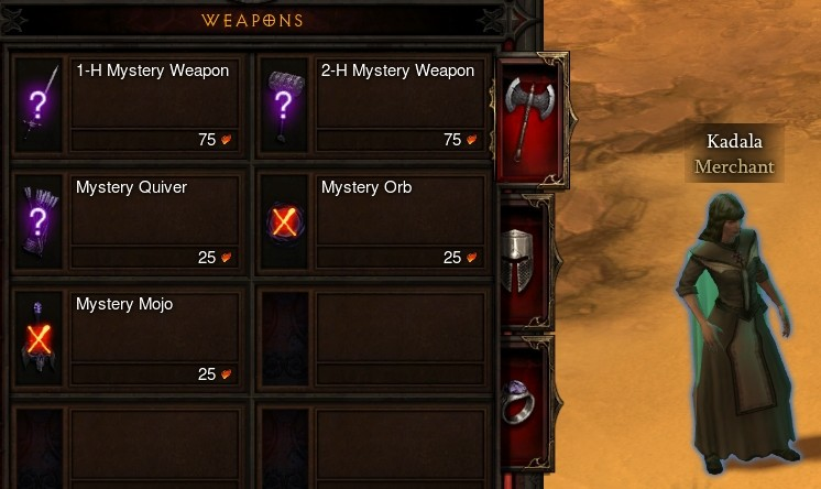 10% Chance of a Legendary Item From Kadala - Diablo III News