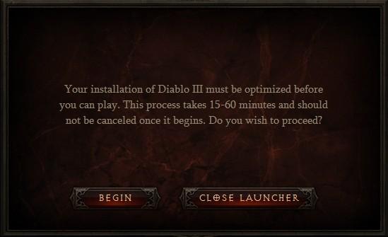 Optimizing Diablo III Installation