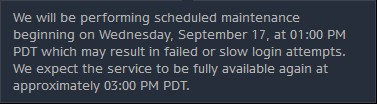 Diablo III Server Maintenance - September 17, 2014