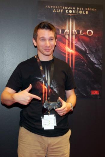 Matthew Berger at gamescom