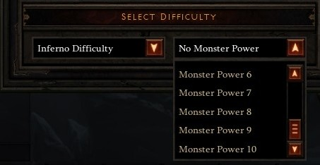 Monster Power Selection