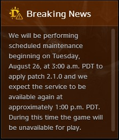 Diablo III Patch 2.1.0 - Breaking News