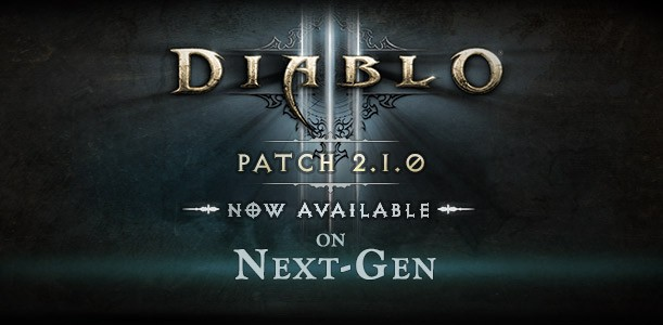 Diablo III Patch 2.1.0 on Consoles