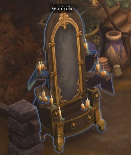 Diablo III Patch 2.2.0 - Wardrobe