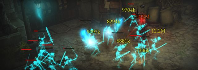 Diablo III Damage Numbers