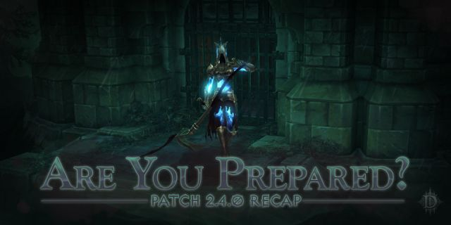 Diablo III Patch 2.4.0 Recap