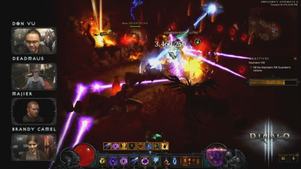 Diablo III Play Your Way Livestream - October 16, 2014