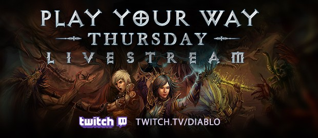 Play Your Way Livestream on Twitch